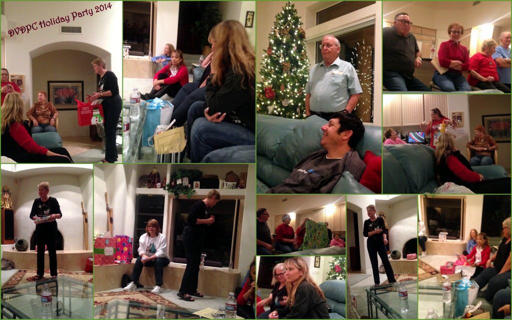 The Annual Pot Luck Holiday Party 2014