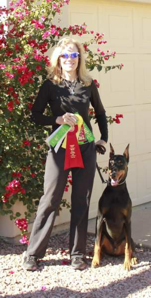Bakar's Dynamic Heart RA CGC earned his RA with Bettina Bickel in February 2016! Congrats Aero & Bettina! They are now working on their RE!